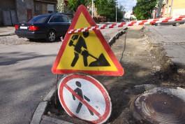 «Не ремонтировались десятилетиями»: как чинят тротуары в Калининграде
