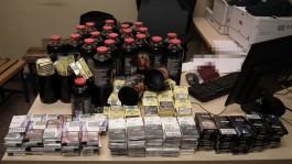 Поляк пытался вывезти из Калининградской области сигареты в бутылках с соком