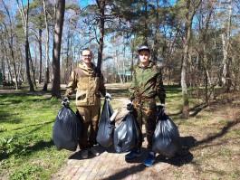 Сотрудники калининградского филиала «Ростелекома» очистили Куршскую косу от мусора