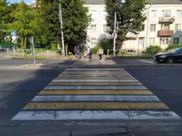 В Калининграде снова включили светофор на улице Невского у БФУ имени Канта