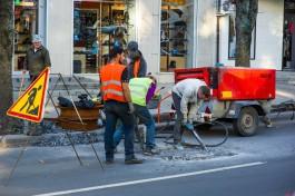 Все дорожные работы в Калининграде обещают завершить 25 октября