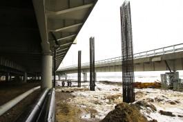 Строители намерены окончательно «навести лоск» на Вторую эстакаду к середине 2017 года