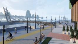 Мэрия: Пешеходный мост на остров Канта в Калининграде подорожает