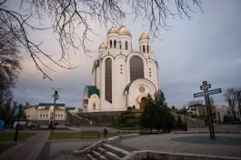 «Постамент и крест»: на площади Победы подготовили место под памятник князю Владимиру