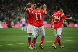 Воспитанник калининградского футбола дебютировал в сборной России