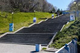 Прокуратура: Власти Светлогорска незаконно выделили участок под застройку у спуска к солнечным часам