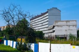 На улице Гагарина в Калининграде разрешили достроить дом обманутых дольщиков ООО «Вивагс»