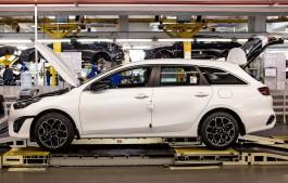 Калининградский «Автотор» начал производство обновлённного Kia Ceed