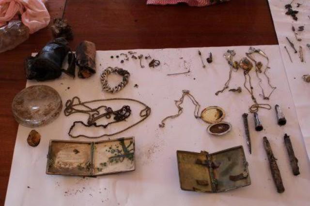 Немцы отыскали вПольше клад, обозначенный накарте их дедушкой