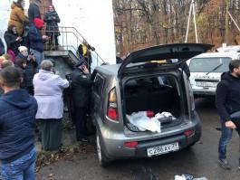 Полиция завела дело на водителя, въехавшего в толпу людей в Холмогоровке