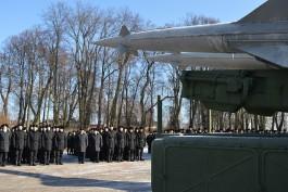 В Гвардейске открыли музей военной техники