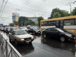 Из-за перекрытий перед матчем ЧМ-2018 в Калининграде возникли огромные пробки