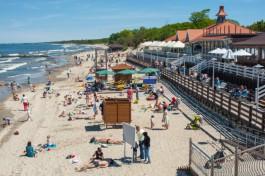 Почему на пляже в Зеленоградске периодически теряются дети?