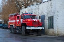 В Калининграде при пожаре в расселённом доме погибла женщина