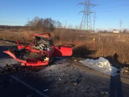 Пострадавший в аварии на Южном обходе водитель БМВ умер в больнице