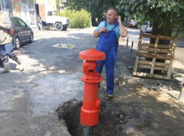 В Калининграде отреставрировали старый немецкий гидрант