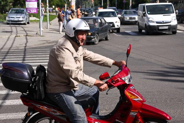 ПДД предлагают поправить впользу мотоциклистов