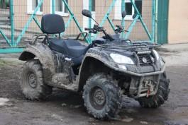 В Янтарном 12-летний мальчик и его восьмилетний брат врезались в забор на квадроцикле