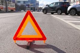 На ул. Беломорской в Калининграде столкнулись четыре автомобиля