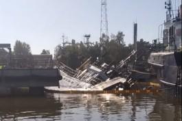 «Зелёный фонд»: В Светлом затонул рыболовецкий траулер «Капитан Лобанов»