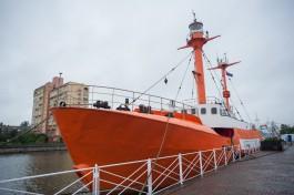 В Калининграде признали выявленным объектом культурного наследия плавучий маяк «Ирбенский»