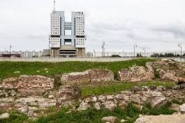 Власти решили засыпать руины Королевского замка в Калининграде