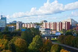 В Калининграде перекрыли две полосы на Московском проспекте из-за повреждения моста