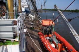На водных путях Калининградской области закрывается навигация