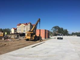 На новой парковке в Зеленоградске обустроят кемпинг с электричеством и канализацией