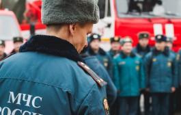 Десять пожарных выезжали тушить баню в посёлке Прибрежном