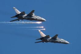 Истребители Балтфлота отработали бомбометание в сложных метеоусловиях