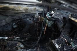 На парковке в Московском районе Калининграда сгорел автомобиль