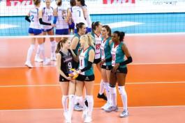 Волейболистки «Локомотива» победили «Динамо» в Калининграде