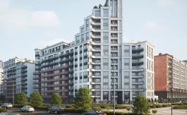 Архитектурный совет одобрил проект квартала высоток рядом с Восточной эстакадой в Калининграде