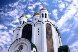 В Рождественский сочельник православные калининградцы соберутся на богослужение в храме Христа Спасителя