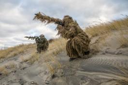 Военнослужащие Балтфлота уничтожили «боевиков» на полигоне Хмелёвка