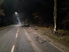 Полиция завела дело на водителя «Ауди А8» после смертельного ДТП на трассе под Калининградом