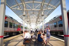 С 16 по 20 июня в Калининградской области пустят дополнительные поезда к морю