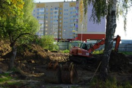 В Калининграде началось строительство храма на улице Левитана