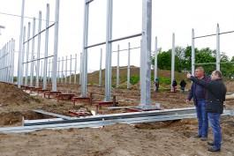 Под Черняховском началось строительство крупного овощехранилища