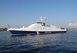 В Санкт-Петербурге построили корабль для калининградского погрануправления ФСБ