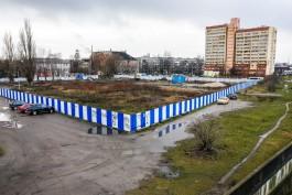Власти не нашли оснований для проведения раскопок на стройке ТЦ рядом с эстакадным мостом в Калининграде