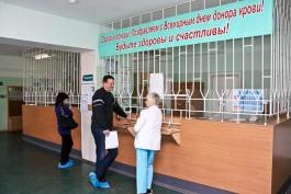 За шесть месяцев доноры в Калининградской области сдали 4,7 тысячи литров крови