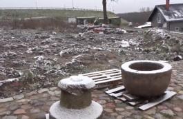 В Зеленоградском округе нашли старинную чашу для крещения младенцев
