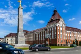 У вокзала в Гусеве планируют благоустроить сквер за 13,7 млн рублей