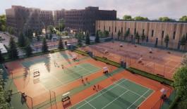 «Корты как порты»: на стадионе «Спартак» на улице Чекистов построят теннисный комплекс с гостиницей и офисами