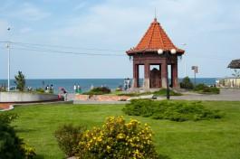 В субботу в Зеленоградске прошёл крупный град