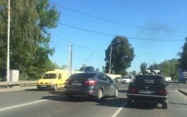 На ул. Невского в Калининграде «Опель» сбил женщину