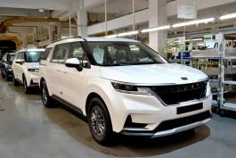 «Автотор» запустил производство нового кроссвэна Kia Carnival в Калининграде