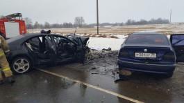 Пострадавшая в ДТП на трассе Гусев — Нестеров умерла по дороге в больницу